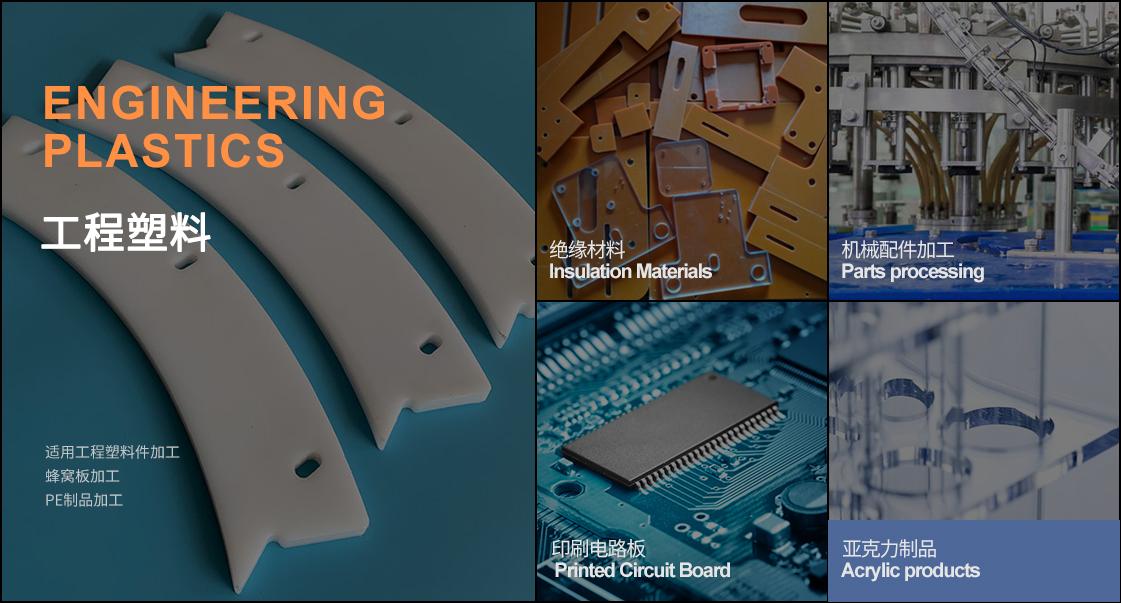 MF1325工程塑料加工中心的应用领域